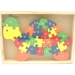 Alphabet Turtle Jigsaw