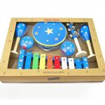 Blue Star 7 Piece Wooden Musical Set