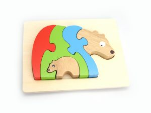 Stacking Bear and Baby Puzzle