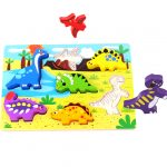 Chunky Wooden Dinosaur Puzzle