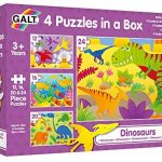 Four Puzzles in a Box Dinosaurs