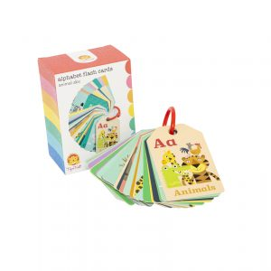 tiger ribe alphabet flash cards