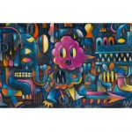 Djeco Monster Wall Panoramic Puzzle