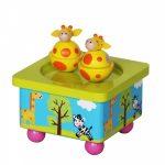toyslink twin giraffe music box