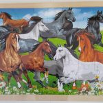 Jigsaw Puzzle Horse 48 Piece