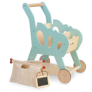 Le Toy Van - Wooden Honeybake Shopping Trolley Cart