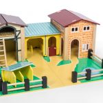 le toy van farmyard set