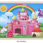 pink fairy castle jigsaw puzzle