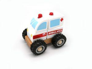 Ambulance with Blocks