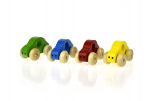 simple wooden toy car