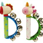 Unicorn and Dragon Handbells