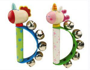 Unicorn and Dragon Handbells