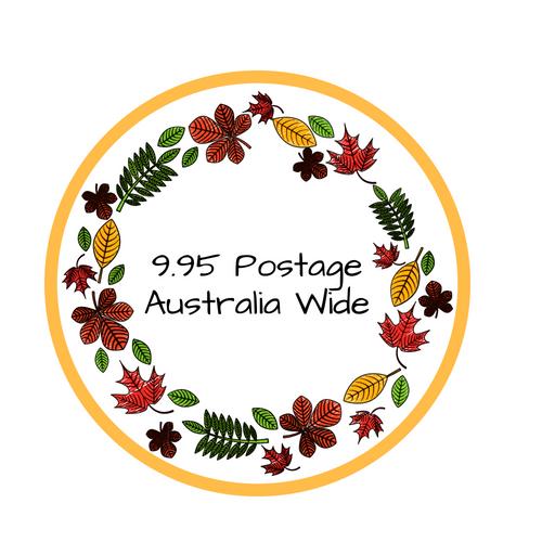 $9.95 Australia Wide Postage
