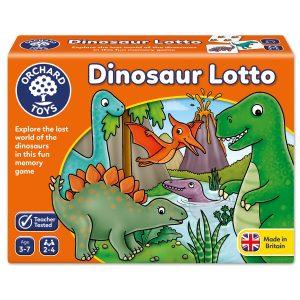 orchard toys dinosaur lotto