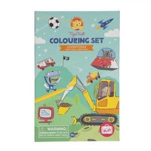 Tiger Tribe Colouring Set - Adventures
