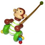 Monkey Push Along with Handle