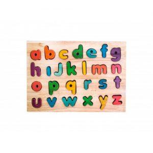 q toys lowercase alphabet puzzle