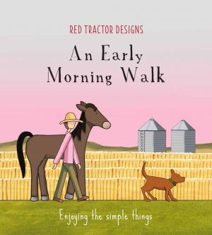 red tractor designs an early morning walk