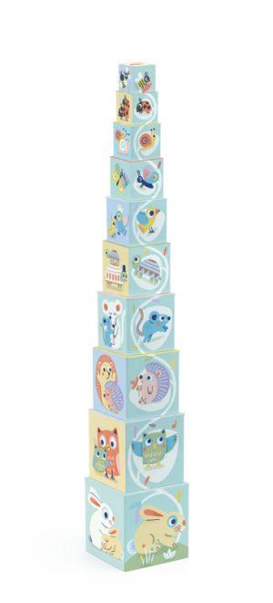 djeco baby bloki stacking blocks