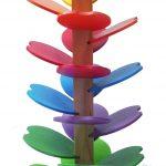 q toys rainbow marble run