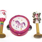 Unicorn 3 Piece Musical Set