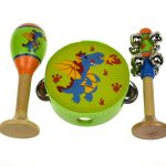 Dragon 3 Piece Wooden musical Set