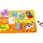 chunky wooden pet puzzle