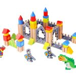 Knight Wooden Castle Blocks