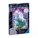 ravensburger unicorn in glittery forest puzzle