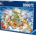 DISNEY CHRISTMAS EVE 1000 PC JIGSAW PUZZLE