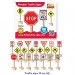 Fun Factory Traffic Signs- 20 Pack