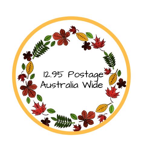 $12.95 Australia Wide Postage