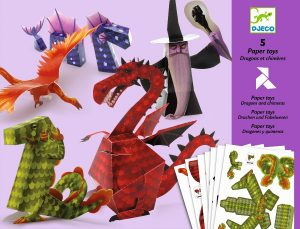 Djeco Origami - Dragons & Chimeras