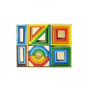 q toys rainbow blocks