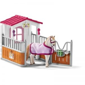 SCHLEICH HORSE STALL WITH MARE