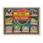 MELISSA AND DOUG MY VERY FIRST STAMP SET ANIMALS