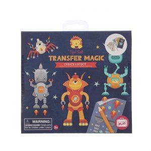 Tiger Tribe Transfer Magic - Create a Robot