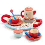 djeco retro wooden tea set