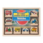 My First Wooden Stamp Set – Vehicles