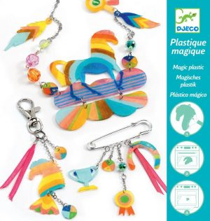 djeco magic plastic rainbow horse