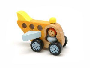 air rescue wooden plane