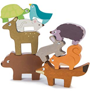petilou woodland stacking animals