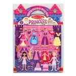 Melissa & Doug Reusable Puffy Stickers - Princess