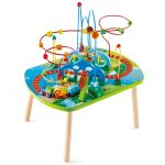 hape jungle adventure railway table