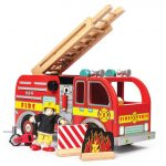 Le Toy Van Red Fire Engine