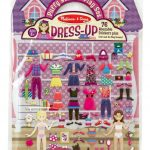 Melissa & Doug Reusable Puffy Stickers - Dress Up