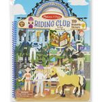 Melissa & Doug Reusable Puffy Stickers - Deluxe Riding Club