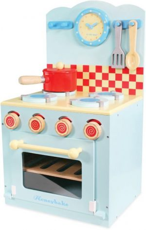 blue hob oven