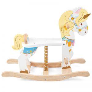 Petilou Rocking Carousel Unicorn