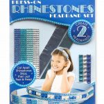 Melissa & Doug Press On Jewels Rhinestone Headbands